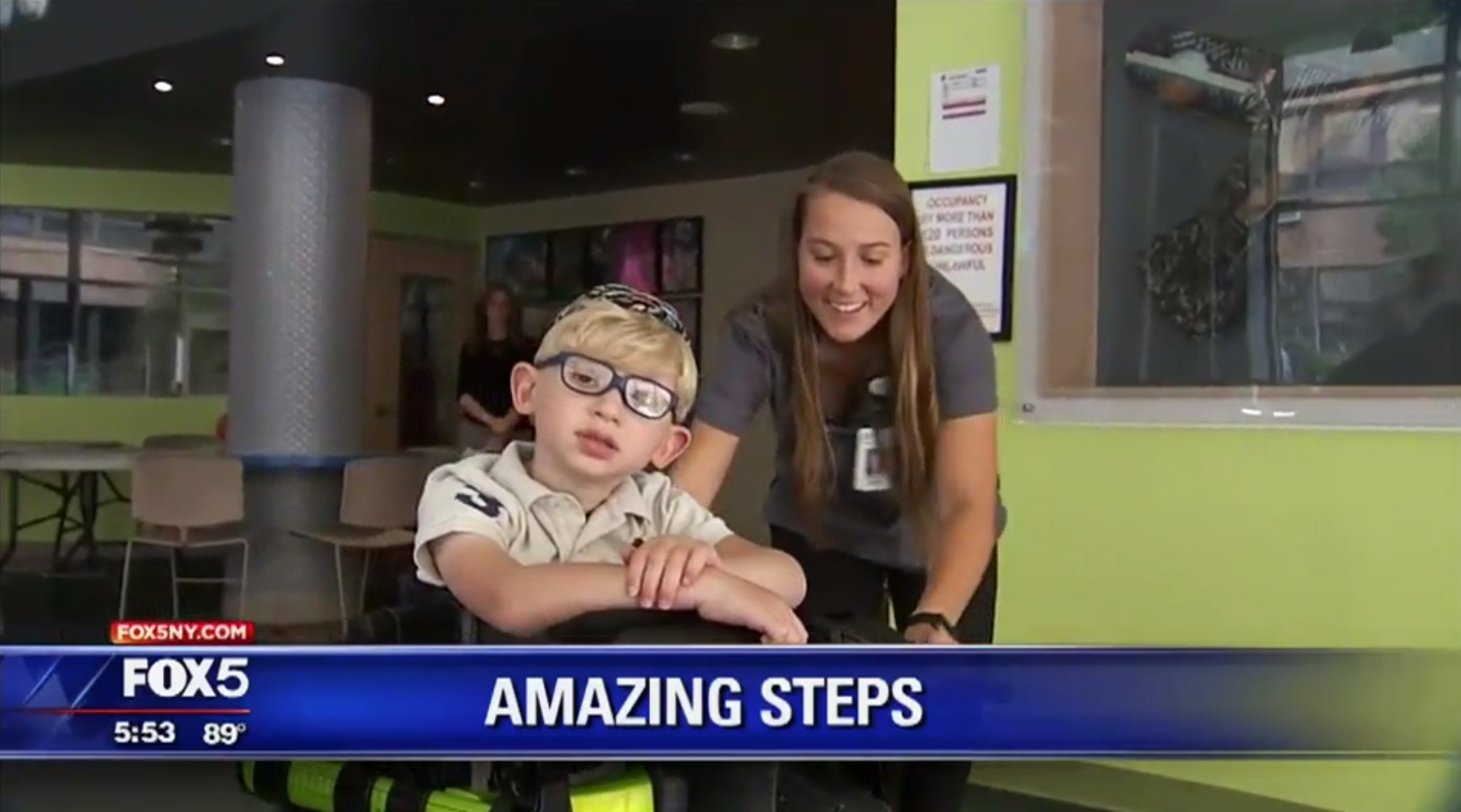 St Mary's Hospital for Children and Trexo in Fox news